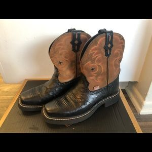 Justin boots for women